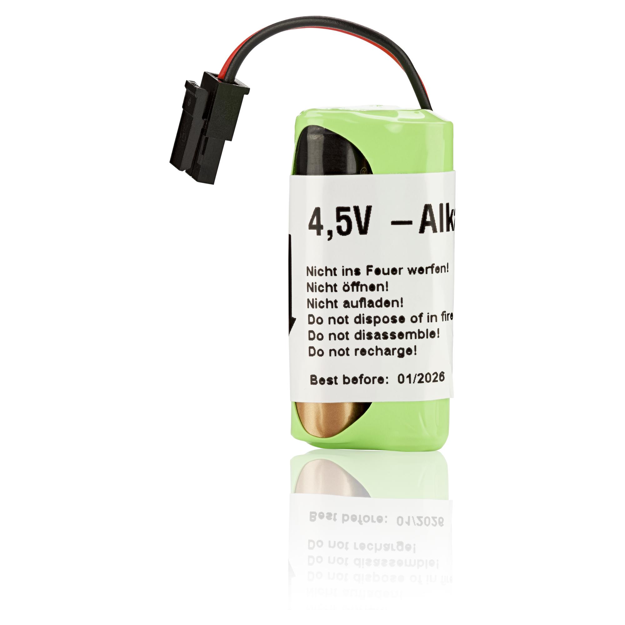 Batterie für FlexxPump 125 B; 4,5V; Alkaline