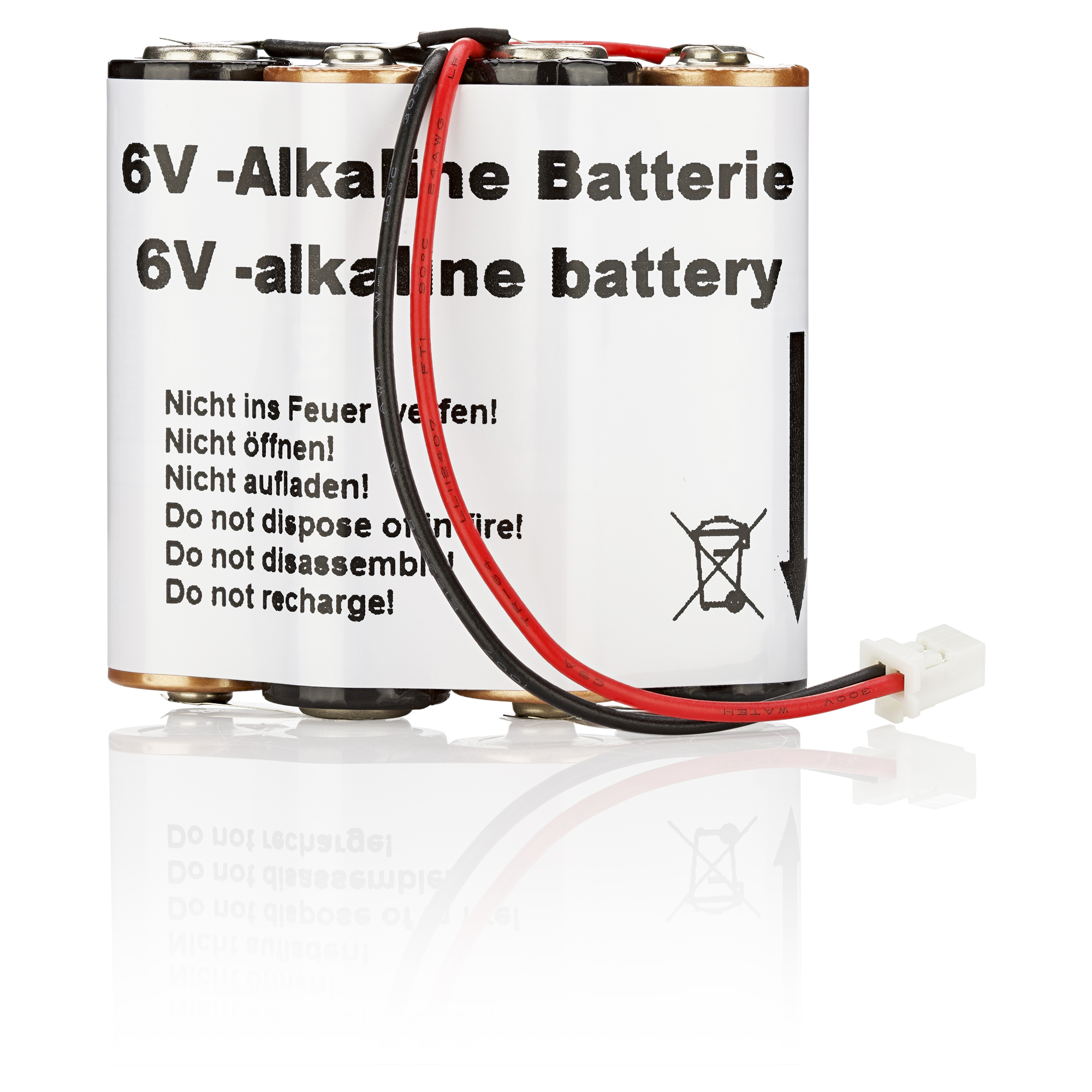 Batteriepack für FlexxPump 400/500 B; 6V; Alkaline