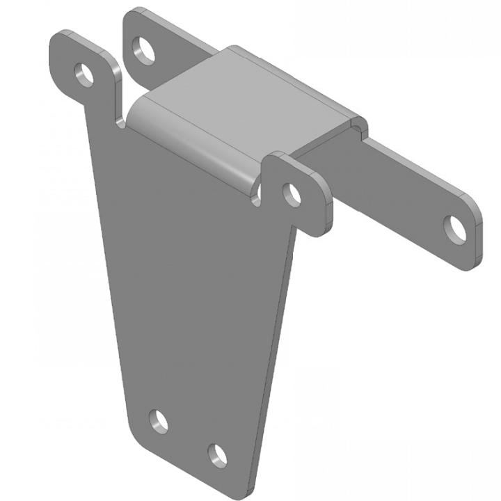 Brackets for FlexxPump 125 & progressiv distributor